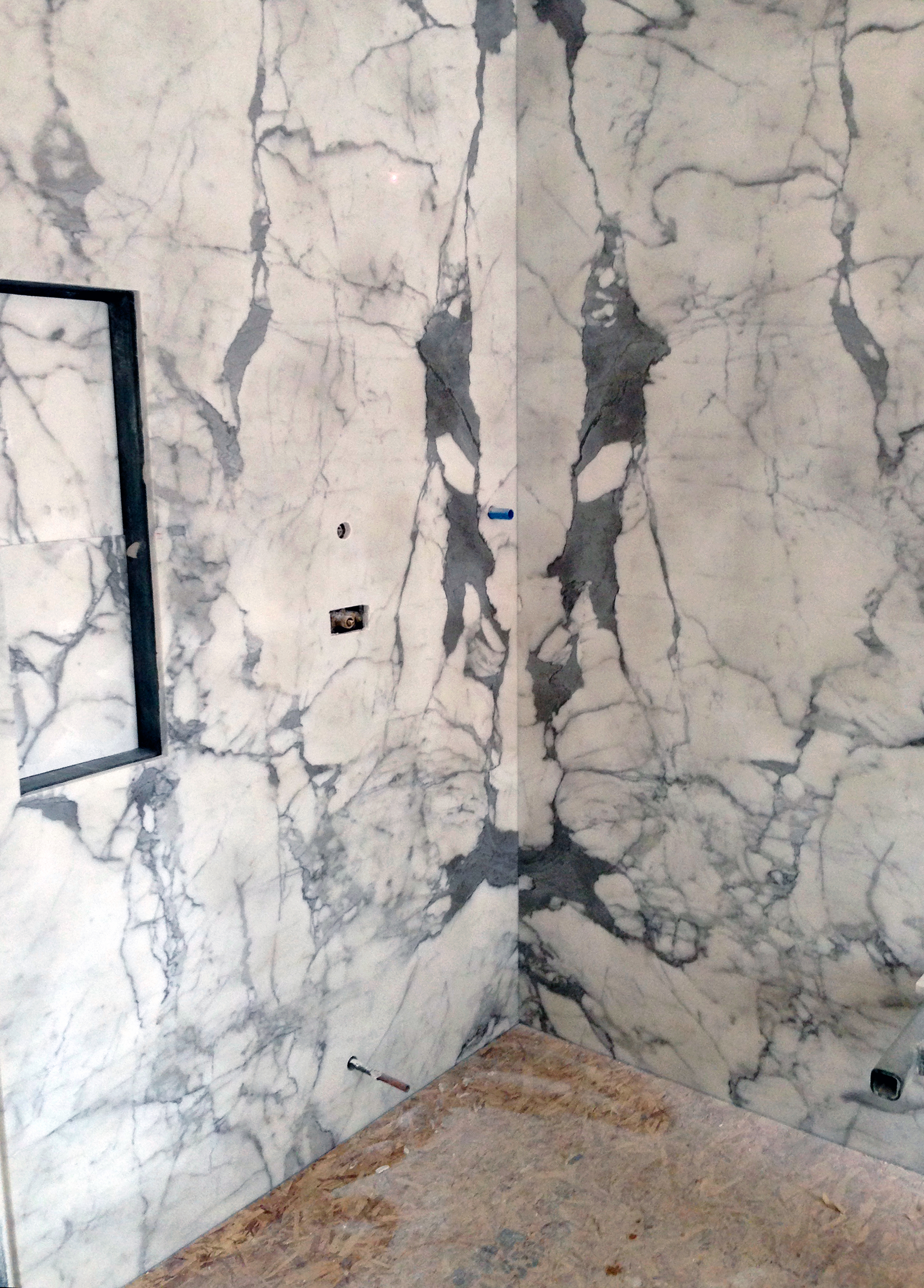 Pure Marble Slab for Master Bath
