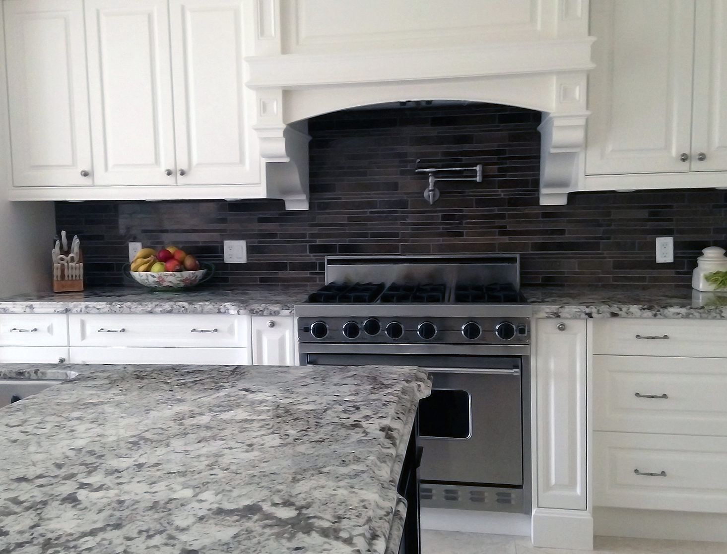 Renovated Rustic Kitchen with Granite Countertop